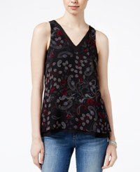 Sanctuary Rose Sleeveless Printed Top Midnight Paisley