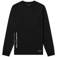 Uniform Experiment Long Sleeve Uen Tee Black