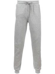 Blood Brother Drawstring Track Pants Grey