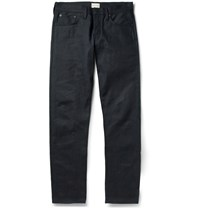Simon Miller M001 Slim Fit Selvedge Denim Jeans Blue