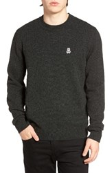 Psycho Bunny Men's Wool Blend Sweater Green