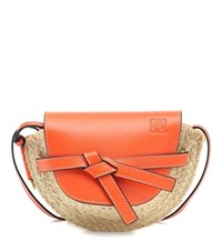 Loewe Gate Mini Crossbody Bag Orange