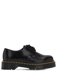 Dr.Martens 30Mm Bex Smooth Leather Oxford Shoes Black