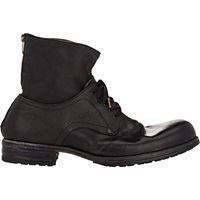 Shoto Back Zip Boots Black