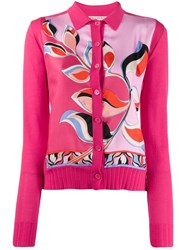 Emilio Pucci Abstract Print Panel Cardigan 60