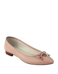 Anne Klein Ovi Pointed Toe Leather Flats