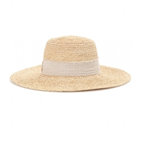 Hat Attack Raffia Sun Hat Natural