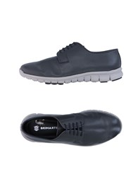Brimarts Lace Up Shoes Steel Grey
