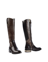 Loretta Pettinari Boots Dark Brown