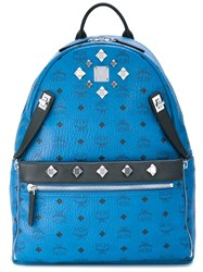 Mcm 'Stark' Backpack Blue