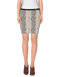 Guess Mini Skirts Light Grey