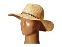 Hat Attack Raffia Braid Continental With Narrow Cord Trim Natural Navy Traditional Hats Neutral