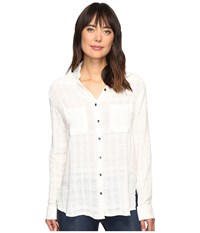 Billabong Easy Moves Solid Long Sleeve Shirt Cool Wip Women's Long Sleeve Button Up Bone