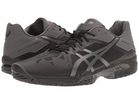 Asics Gel Solution Speed 3 Black Grey Men's Tennis Shoes