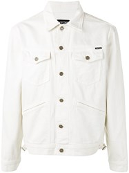 Tom Ford Denim Jacket White