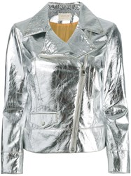 Lex Lab Biker Jacket Metallic