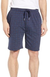 Lacoste Knit Cotton Lounge Shorts Navy