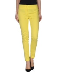 Ql2 Quelledue Casual Pants Yellow