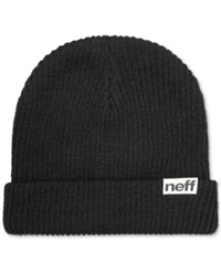 Neff Daily Fold Knit Hat Black