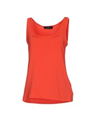 Compagnia Italiana Tank Tops Red