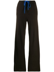 Chinti And Parker Knitted Contrast Trim Jogger Trousers 60