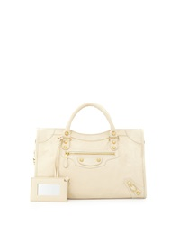 Balenciaga Giant 12 Golden City Bag Cream