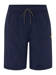 Lyle And Scott Sports Running Shorts Navy