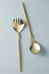 Anthropologie Hewn Serving Set Copper