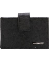 Fendi Multi Pocket Coin Purse Black
