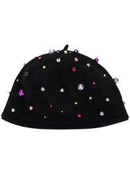 Le Chapeau Beaded Hat Black