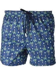 Fe Fe Fefe Palm Tree Print Swim Shorts