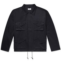 Chimala Cotton And Nylon Blend Jacket Midnight Blue
