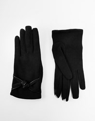 Totes Soft Touch Fleece Gloves Charcoal
