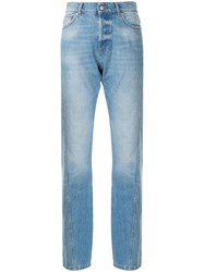 Zadig And Voltaire Erini Show Straight Leg Jeans Blue