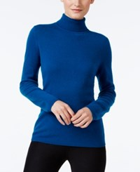 Charter Club Cashmere Turtleneck Sweater Only At Macy's 16 Colors Available Twilight Teal