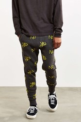 Urban Outfitters Uo Yes No Sweater Pant Grey Multi