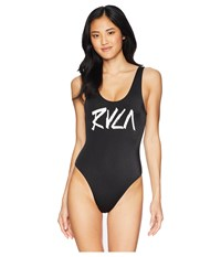 Rvca Blackout One Piece Black Swimsuits One Piece