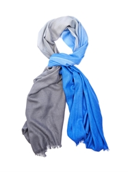 Paul Smith Ombre Effect Wool And Silk Blend Scarf