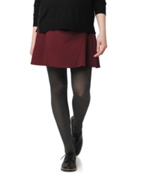A Pea In The Pod Maternity Ponte Fit And Flare Skirt