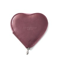 Aspinal Of London Heart Coin Purse Brown