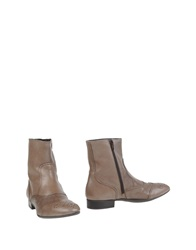 Pons Quintana Ankle Boots Dove Grey