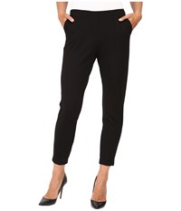 Hue Travelista Seamed Luxe Ponte Skimmer Black Women's Casual Pants