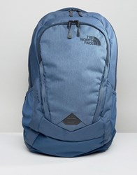The North Face Vault Backpack In Blue Blue