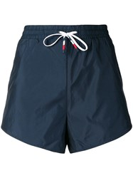 Tommy Hilfiger Drawstring Fitted Shorts Blue