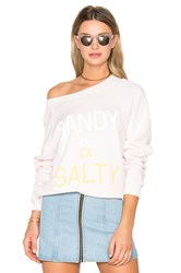 Wildfox Couture Sandy And Salty Top Pink