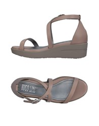 Ruco Line Sandals Dove Grey