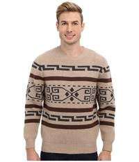 Pendleton Westerley Crew Sweater Caramel Men's Sweater Brown
