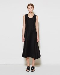 Marni Scoopneck Cotton Cady Dress