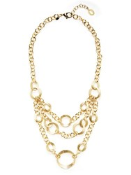 Saks Fifth Avenue 18K Gold Layered Necklace No Color