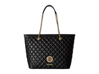 Love Moschino Quilted Classic Chain Strap Tote Black Tote Handbags